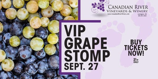 VIP Grape Stomp Experience
