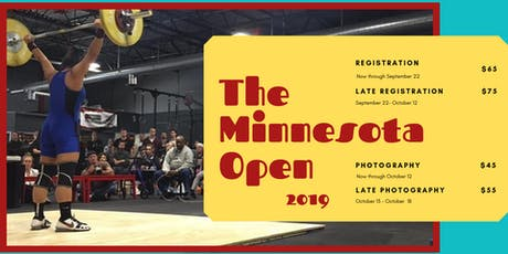 Minnesota Open Weightlifting Championships 2019 tickets