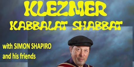 Klezmer Kabbalat Shabbat tickets