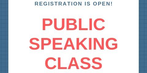 Public Speaking Class (Series), Level II (6th - 12th grade)