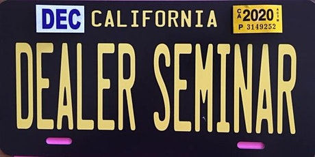 Visalia Car Dealer School tickets