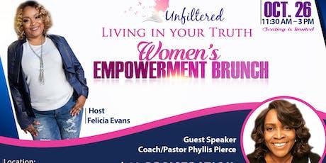 Unfiltered 2019 Women's Empowerment Brunch tickets