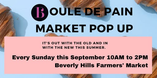 Farmers Market Bakery Pop-Up