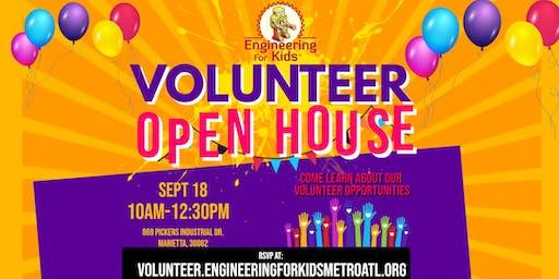 Engineering For Kids Volunteer Open House