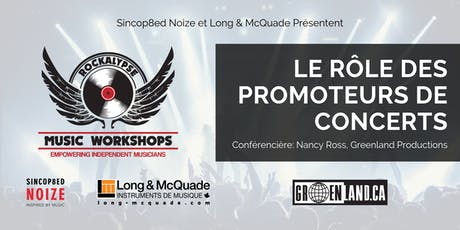 The Role of Concert Promoters (Workshop) tickets