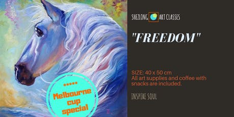 FREEDOM-social painting workshop tickets