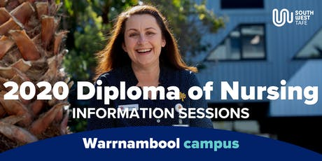 Diploma of Nursing 2020 Information Session - Warrnambool tickets
