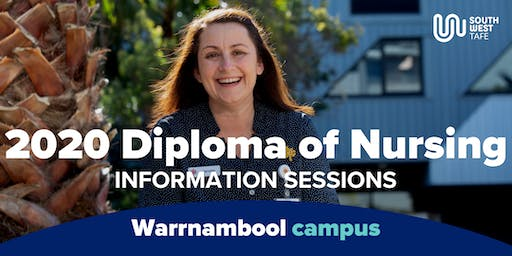 Diploma of Nursing 2020 Information Session - Warrnambool