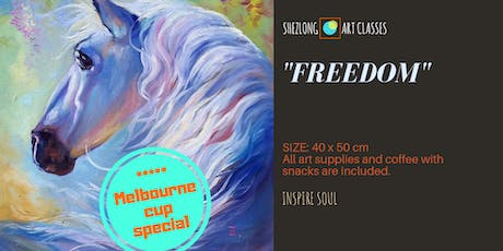 FREEDOM - coffee and paint workshop tickets