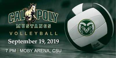Cal Poly Volleyball Game vs. CSU @ CSU