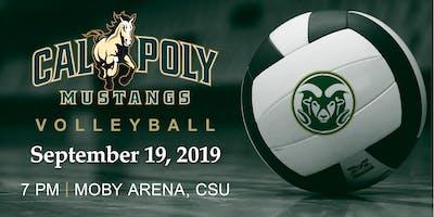 Cal Poly Volleyball Game vs. CSU @ CSU