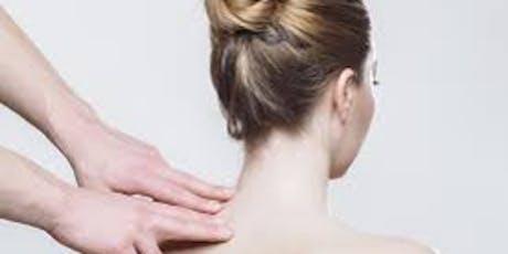 Care of Cervical Spine and Shoulder tickets