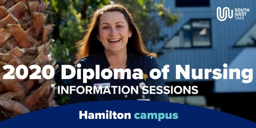 Diploma of Nursing 2020 Information Session - Hamilton