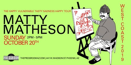 Matty Matheson @ The Pressroom tickets