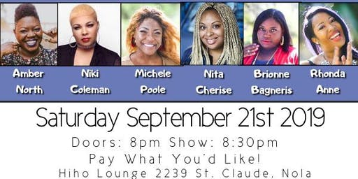 No Lye Comedy Presents Melanated Mischief - September