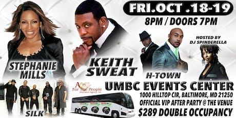All Black Affair w/ Keith Sweat & Stephanie Mills Concert & Casino Bus Trip tickets