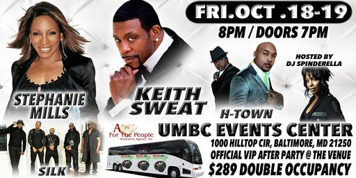 All Black Affair w/ Keith Sweat & Stephanie Mills Concert & Casino Bus Trip