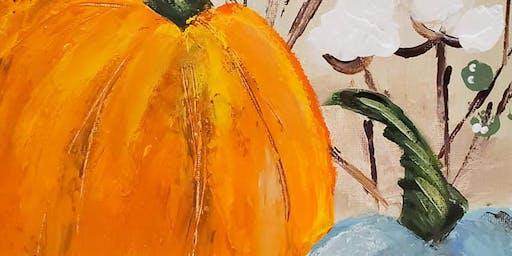 9/28 $22 Palette Pumpkin @ Paint Like ME!