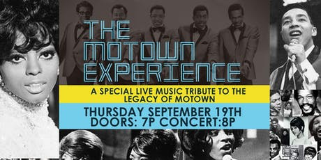 The Motown Experience (Dallas) tickets