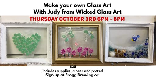 Glass Art & Pints @ Frogg Brewing