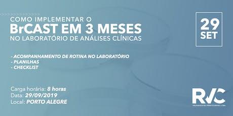 Como implementar o BrCAST em 3 MESES no laboratórios de análises clínicas ingressos