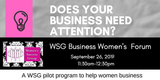 WSG Business Women's Forum