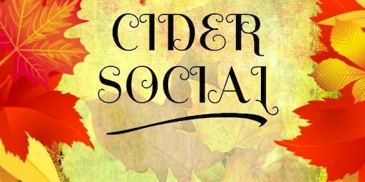 3rd Annual Cider Social