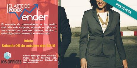 """Seminario: """"El Arte de Poder Vender"""" boletos"""