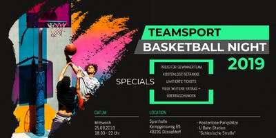 Basketball Turnier Düsseldorf 2019