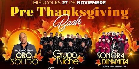 Oro Solido, Grupo Niche y Sonora Dinamita en Los Angeles!  tickets