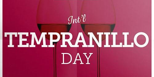 National Tempranillo Day Wine Tasting