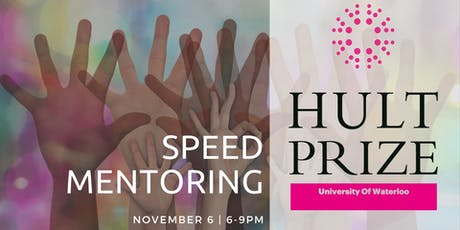 Hult Prize UW Speed Mentoring tickets