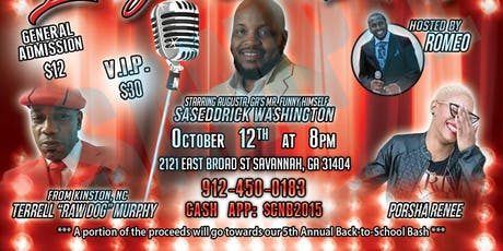 Laugh Out Loud! Comedy Show tickets