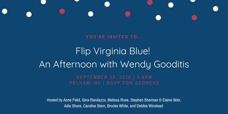 Flip Virginia Blue: An Afternoon with Wendy Gooditis tickets