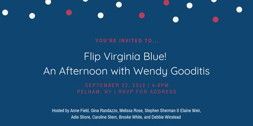 Flip Virginia Blue: An Afternoon with Wendy Gooditis