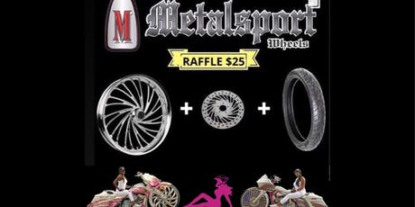 "Big Wheel Women 30"" Metalsport Wheel Raffle Rumble Night tickets"