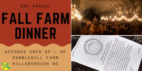 The People's Seed Fall Farm Dinner tickets