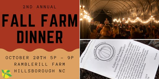 The People's Seed Fall Farm Dinner