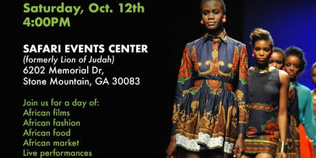 Atlanta African Film and Fashion Festival tickets
