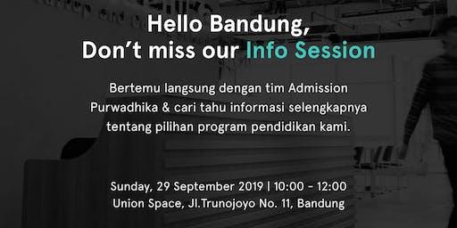 Info Session Purwadhika Campus Bandung