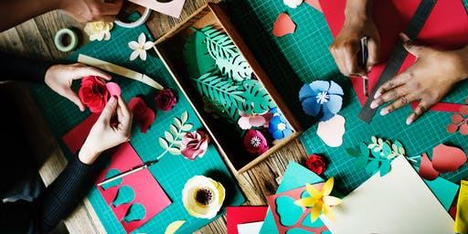 Get Crafty! Mini-Journal Making with Upcycled and  Paper-based Materials