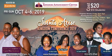 Saints Arise Kingdom Conference 2019 tickets