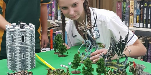 Gaming in Libraries: Skirmish School Holiday Program at Kincumber Library