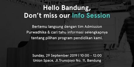 Info Session Purwadhika Campus Bandung tickets