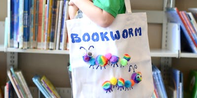 Design Your Own Library Bag (Mixed activities day)