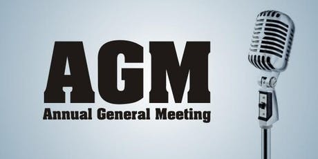 DCBC AGM 2019 tickets