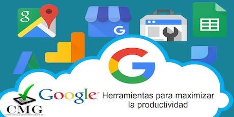✓CMG - Herramientas para Maximizar la Productividad  entradas