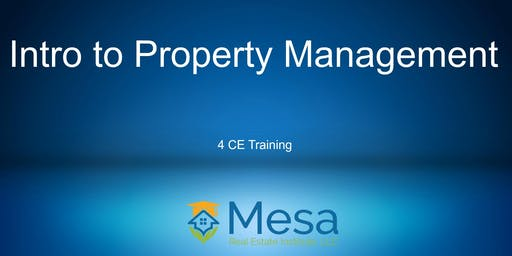 Intro to Property Management