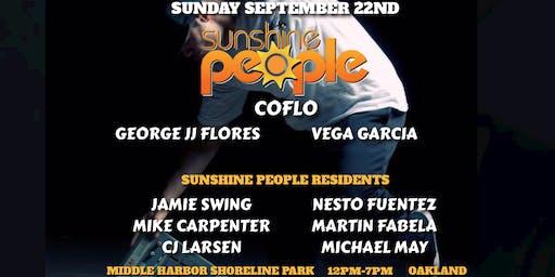 Sunshine People at the Park w/ Coflo / George JJ Flores / Vega Garcia