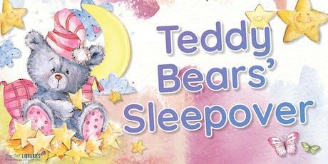 Teddy Bears' Sleepover - Maryborough Library - All ages tickets